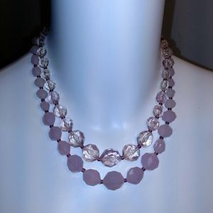 Jewelry - Vintage Pink Necklace